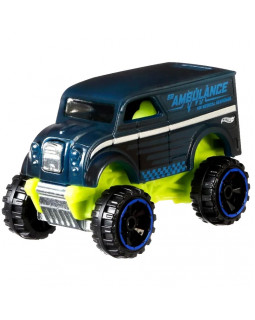 Машинка Hot Wheels Color Shifters Monster Dairy Delivery