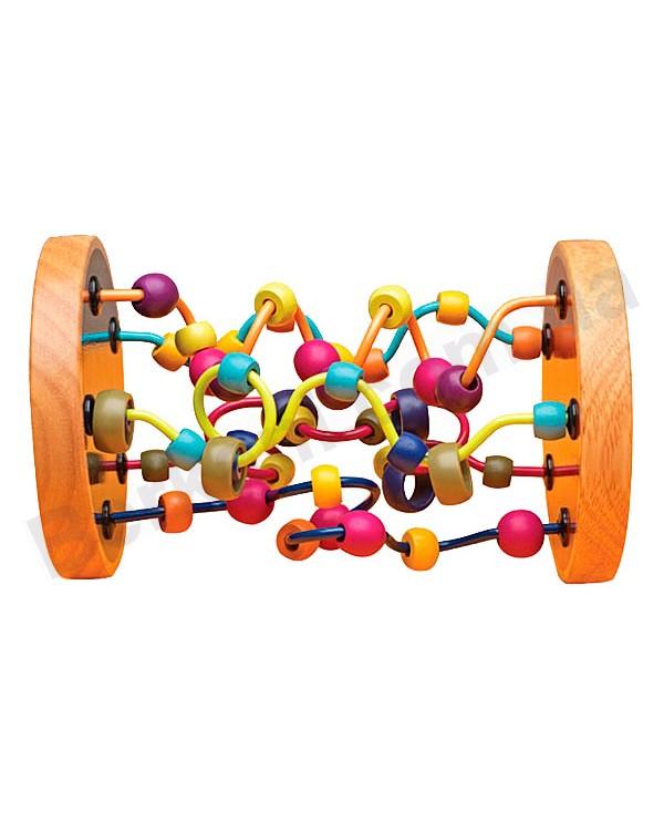 Развивающая деревянная игрушка Разноцветный лабиринт