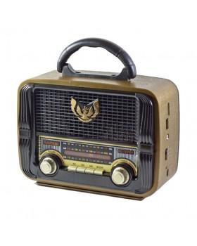 Радио приёмник ретро MD-1905BT