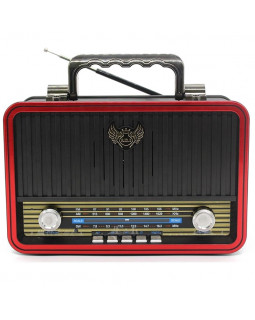 Радио приёмник ретро MD-1907BT
