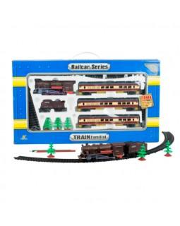 Детская железная дорога на батарейках длина путей 325 см