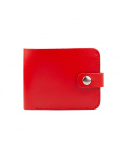 Кошелек mini Redison Wally Red кожаный