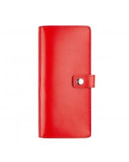 Кошелек женский Gemma Comfort Red кожаный