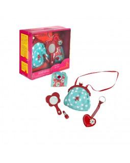 Аксессуары для куклы сумочка Винтаж, 4 аксессуара