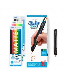 3d-ручка plus черная 75 cтержней аксессуары