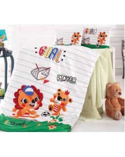 Комплект детского постельного белья Player в кроватку, хлопок