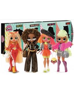 Игровой набор 4 куклы Neonlicious Swag Diva Royal Bee