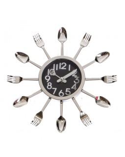 Настенный часы Столовые приборы 29 см