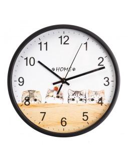 Настенный часы Котики 25 см