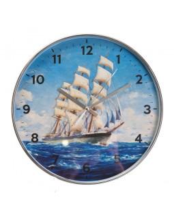 Настенный часы Парусная яхта 30 см