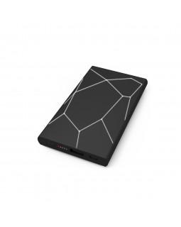 Беспроводная портативная ккумуляторная батарея  geo wireless powerbank Black and white