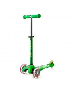 Детский самокат Deluxe green до 50 кг 3-х колесный
