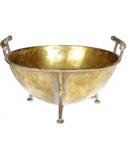 Декоративное капшо 40.5х36.5х23 см металлическое
