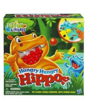 Настольная игра детская Голодные бегемотики
