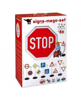 Игровой набор для детей «Дорожные знаки» 6 шт в наборе