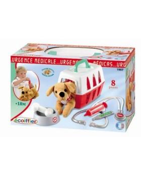 Игровой набор Ветеринарная клиника с переноской для щенка