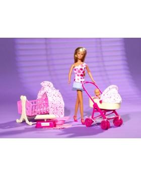 Кукла «Steffi с младенцем Love»