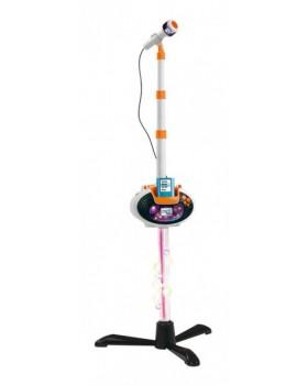 Музыкальный инструмент микрофон со штативом