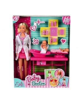 Кукла «Штеффи-врач» с близнецами