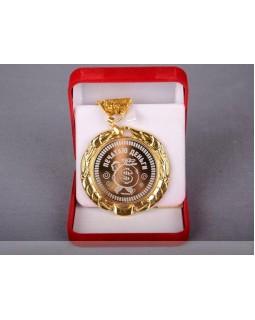 Медаль Печатаю деньги в подарочной коробке