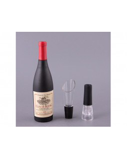 Набор для вина Штопор+дозатор+пробка