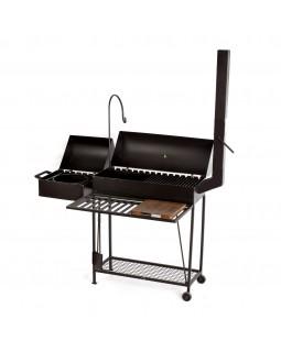 Мангал BBQ 3-в-1 стационарный и комплект дополнений