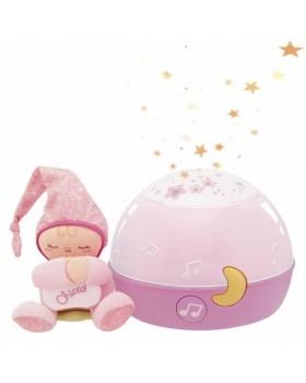 Ночник проектор «Первые грезы First Dreams Pink»