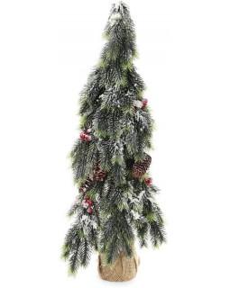 Декоративная елка Шишки с ягодами 90 см