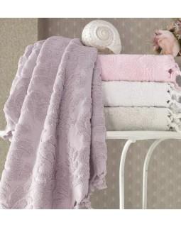 Набор 4 полотенца Elize 70х140 см (банные), хлопок