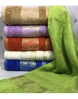 Набор 6 лицевых бамбуковых полотенец Divrigi 50х90 см
