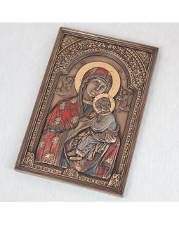 ИКОНА «ДЕВА МАРИЯ И ИИСУС» 23*15 см